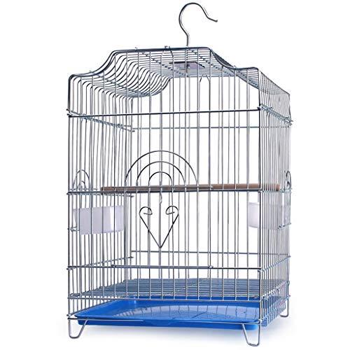 Edelstahl Vogelkäfig Einfach zu reinigen Vogelkäfig Papagei Xuanfeng Myna Taube Taube Beschmutzter Luxuszuchtkäfig