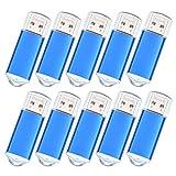 USB-Flash-Laufwerk 128MB - 20 Packung Speichersticks - Blau USB 2.0 Stick für Computer by Datarm