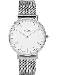 Cluse Orologio da Donna Analogico al Quarzo con Cinturino in Acciaio Inox – CL18105