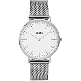 Cluse-Damen-Armbanduhr-Analog-Quarz-Edelstahl-CL18105