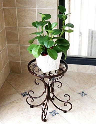 YANZHEN Fer à repasser à une seule étage Pot à fleurs, étagère à fleurs pour balcon, intérieur Etagère de Fleur ( Couleur : C )