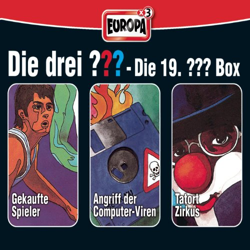 Cover zum Download 19/3er Box - Folge 55 - 57 von Die Drei ???