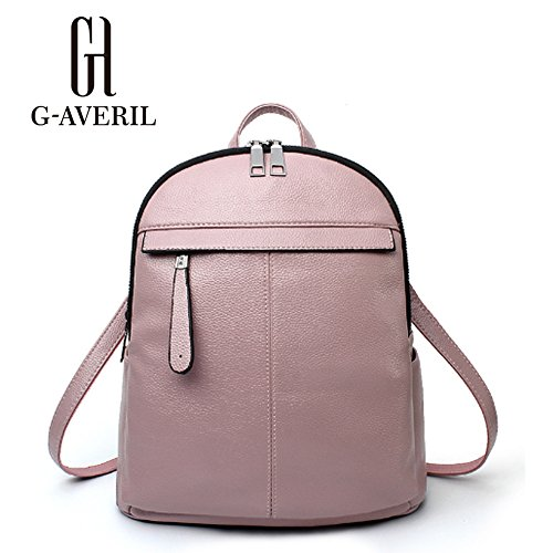 G-AVERIL GA1171-C, Borsa a zainetto donna blu navy Navy blue Pink