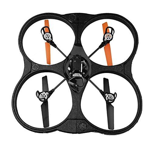 AKASO K88 2.4GHz 4 CH 6 Axis Stabilization Methodology Bagatelle Gyro RC Quadcopter mit HD Kamera, 360-Grad Go Funktion 2 RTF LED RC Drohne