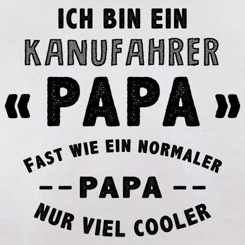 Ich bin ein Kanufahrer Papa - Herren T-Shirt - 13 Farben Weiß
