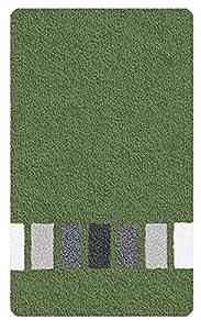 Kleine Wolke 4026657225 Jazz Tapis de Bain Polyacrylique Vert Sapin 70 x 120 x 2 cm