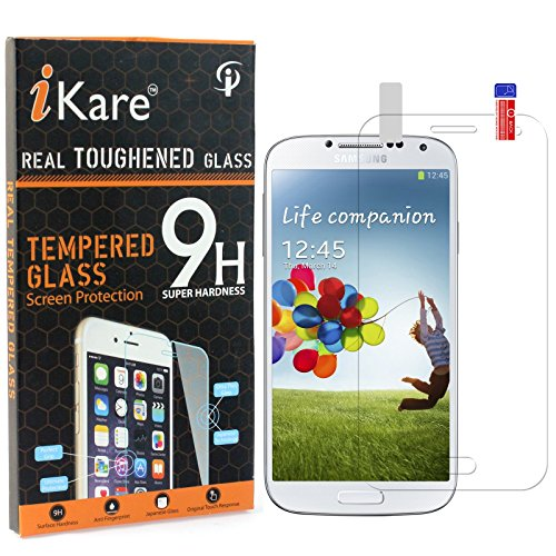 Galaxy S4 Mini Tempered Glass, iKare 2.5D 9H Tempered Screen Protector for Samsung Galaxy S4 Mini GT-I9192