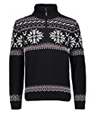 CMP Herren Pullover Man Knitted Nero U901 Grösse 56