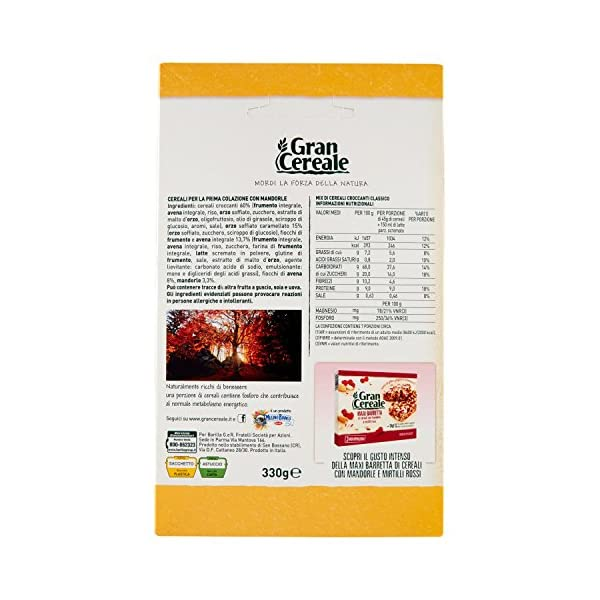 Gran Cereale Cereali Croccanti Classici, Ricchi di Fibra e Fosforo - 330 g 3 spesavip