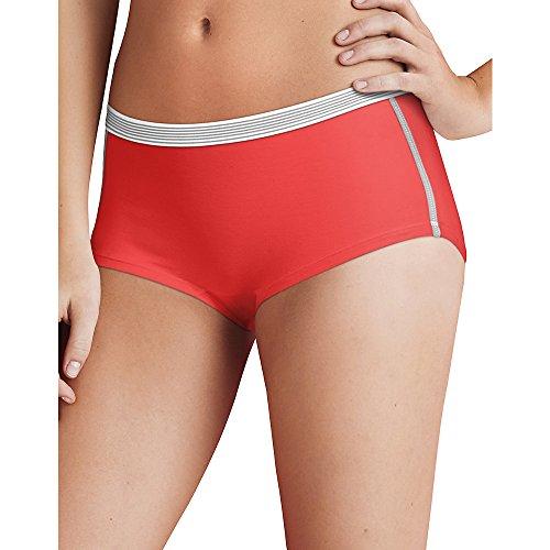 hanes-mujer-sport-comfort-x-temp-boyshort-braguitas-con-comodidad-flex-cintura-3-pack-5-assorted