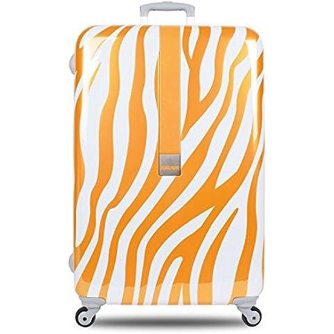 Suitsuit–Leggero, valigie Africa Tan Zebra (28cm) taglia L, plus beau