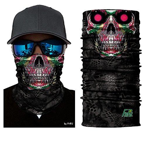 ILOVEDIY-Tour-de-Cou-Moto-Tete-de-Mort-Clown-3D-Crane-Cagoule-Masque-Multifonction-Homme-Halloween-Deguisement