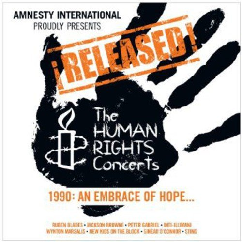 Released! The Human Rights Concerts 1990: An Embrace of Hope -