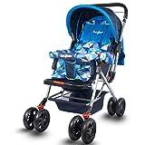 #4: Baybee Glide Premium Baby Stroller Pram.- (Blue)