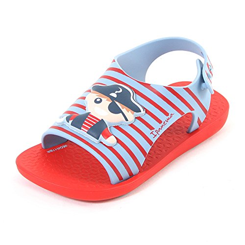 Ipanema Baby Dreams Pull On PVC Flat Red Pirate