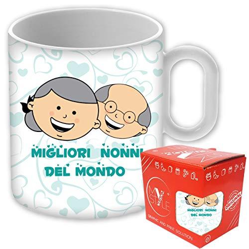 My Custom Style Tazza Standard ceramica#Festa nonni-Migliori Nonni#325ml