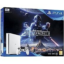 Sony PlayStation 4 500 GB White Star Wars Battlefront II Bundle
