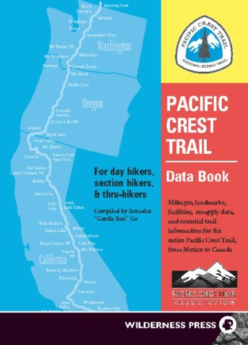 Price comparison product image Pacific Crest Trail Data Book: Mileages,  Landmarks,  Facilities,  Resupply Data,  and Essential Trail Information for the Entire Pacific Crest Trail,  from Mexico to Canada