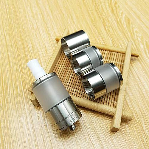 Dvarw II DIY oil storage nebulizer Dvarw V2 RTA MTL V2 22mm with three tank kit (silver)