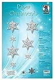 Ursus 21740099 - Bastelset Paper Ornaments Sterne