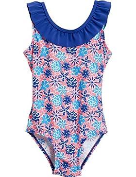 Playshoes Mädchen Einteiler Badeanzug Veilchen mit Uv-schutz
