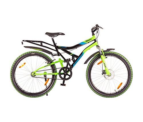 Hero Sprint 26T Winner Single Speed Adult Cycle - Black & Green (18' Frame)