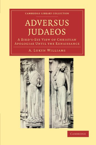 Adversus Judaeos Paperback (Cambridge Library Collection - Religion)