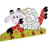 Guru-Shop Colourful Children`s Wardrobe Wall Hook - Käfer, 25x40x2 cm, Clothes Hooks for Children