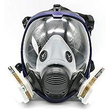 Traje para pulverización de pintura de 7 piezas para máscara de gas de cara completa 6800