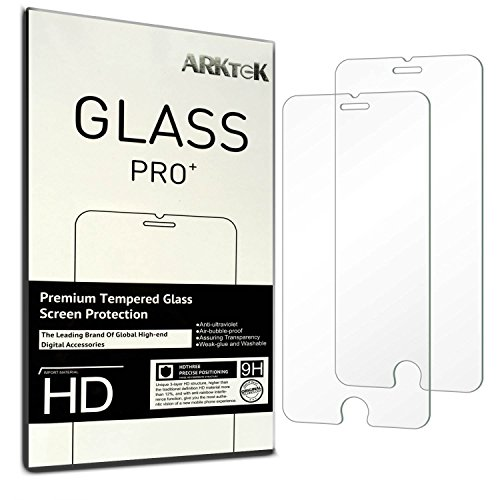 2-pack-iphone-6-6s-screen-protector-arktek-026mm-super-thin-25d-rounded-edges-premium-tempered-glass