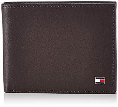 Tommy Hilfiger - Eton Mini Cc Wallet, Portafoglio unisex - adulto, marrone (brown), OS