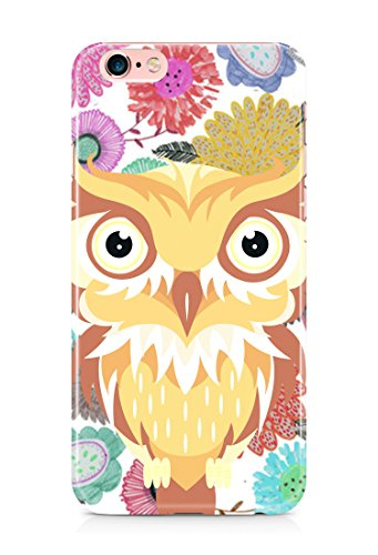 Colorful unique new owl 3D cover case design for iPhone 7Plus 12