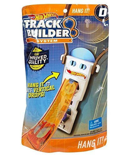 Mattel Hot Wheels Track Builder Sistema Accessory D – Hang it. (dlf02)