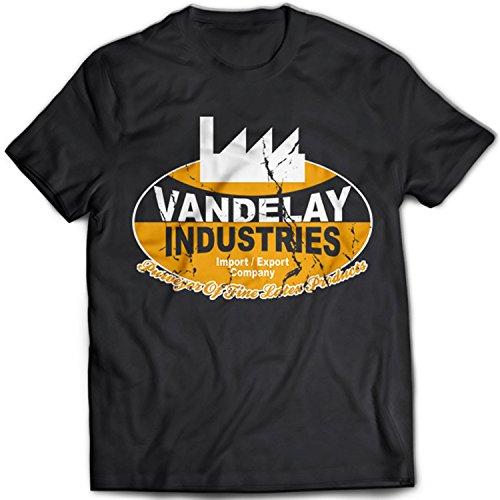 9038 Vandelay Industries Herren T-Shirt Seinfeld Comedy TV Ind(X-Large,Black)
