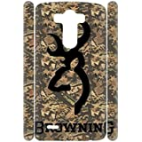 Generic Womon For Optimus G3 Hipster Plastic Printing Browning Phone Cases