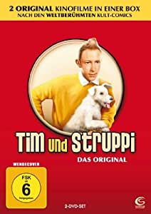 Tim & Struppi - Das Original - Teil 1+2 [2 DVDs]