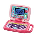 Picture Of NEW LeapFrog 2 in 1 LeapTop Touch Laptop Pink