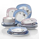 VEWEET Dinner Set 'DEBBIE' 24-Piece White Dinner Combi-Set - Best Reviews Guide