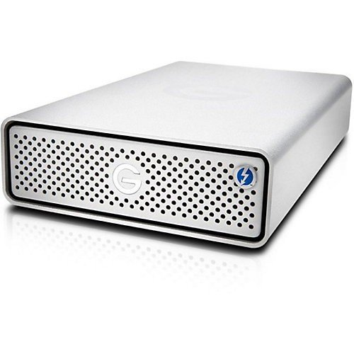 G-Technology G-DRIVE Thunderbolt 3 10000GB Plata - Disco duro externo (10000 GB, USB Tipo C, 3.0 (3.1 Gen 1), 7200 RPM, 245 Mbit/s, Plata)