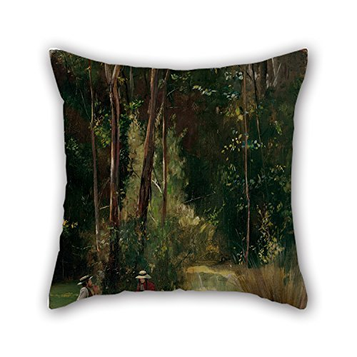 beautifulseason Oil Painting Tom Roberts - A Sunday Afternoon Throw Pillow Case 20 X 20 Inch/50 by 50 cm Best Choice for Car,gf,Play Room,Dinning Room,Husband,Outdoor with Two Sides -