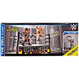 WWE Wrestling Superstar Rings The Cell Action Figure Playset [2015] by Mattel Toys