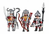 Playmobil 6326 3 Rote Asia-Ritter (Folienverpackung)