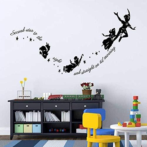 Adesivi da parete idolxu adesivo rimovibile in vinile adesivo da parete personalizzabile adesivo da parete in vinile di peter pan