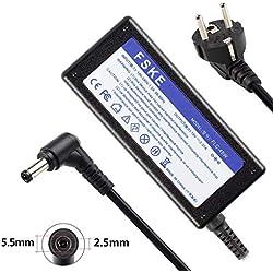 FSKE 45W 19V 2.37A Chargeur pour Ordinateur Portable ASUS ADP-90CD DB Alimentation, X552C X550C K53S X551M K52F X555L K53E E200H N17908 V85 Notebook Adaptateur, 5.5 * 2.5mm