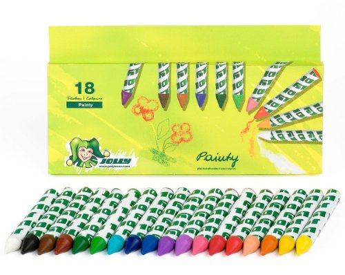 JOLLY 5999-0073 - Painty Kreiden 18er set