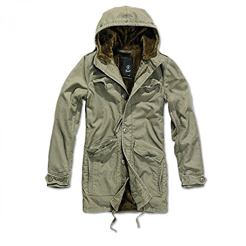 BRANDIT Giacca Giubbotto Giaccone Parka donna militare Haley ladies Jacket (L)