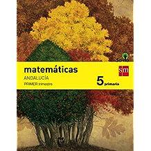 Matemáticas. 5 Primaria. Savia. Andalucía