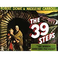 The 39 Steps 1935 – Tappetino per il (Tipo Movie Poster)