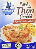 Petit Navire Pavé de Thon Grillé Tomates/Basilic 600 g - Lot de 5