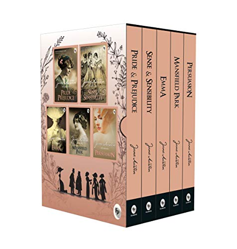 Greatest Works of Jane Austen (Set of 5 Books)